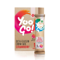 Yoo Go! Beta-glucan Drink Mix (Strawberry). Bebida baja en calorías con edulcorante, sin alcohol